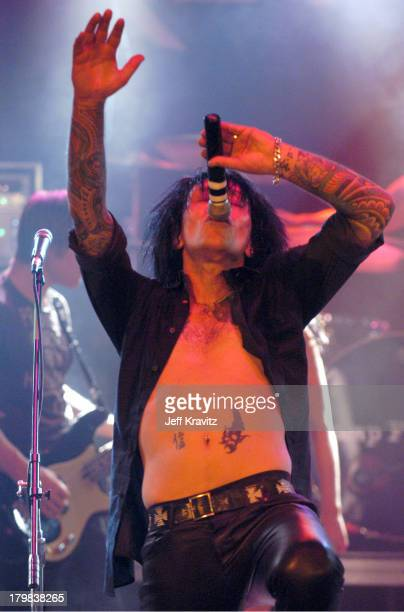 Billy Morrison during Camp Freddy Benefit Concert for South East Asia Tsunami Relief at Key Club in Hollywood California United States