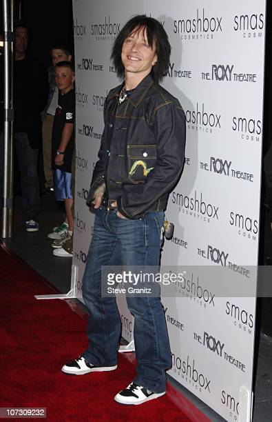 Billy Morrison during Smashbox Cosmetics and the Roxy Theater Present Hedwig And The Angry Inch Arrivals at Roxy Theatre in West Hollywood California...