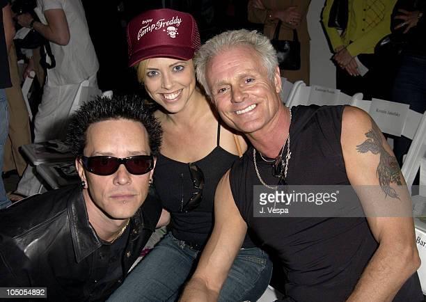 Billy Morrison, Jennifer Morrison and Michael Des Barres