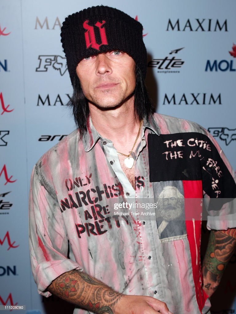 Billy Morrison of Camp Freddy during Maxim Magazine Celebrates The X-Games 2005 Party - Arrivals at Cabana Club in Hollywood, California, United States.