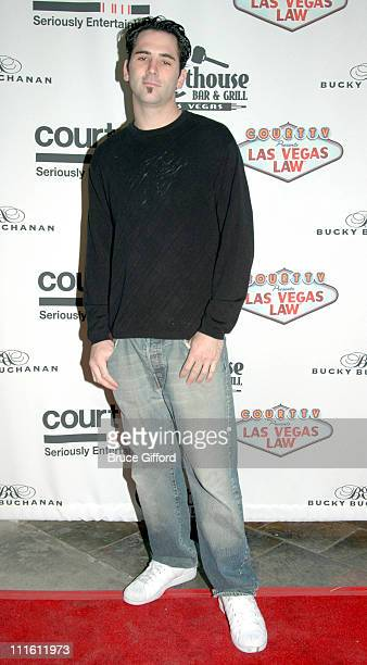 Billy Moyer during Las Vegas Law Premieres on Court TV at Courthouse Grill in Las Vegas Nevada United States