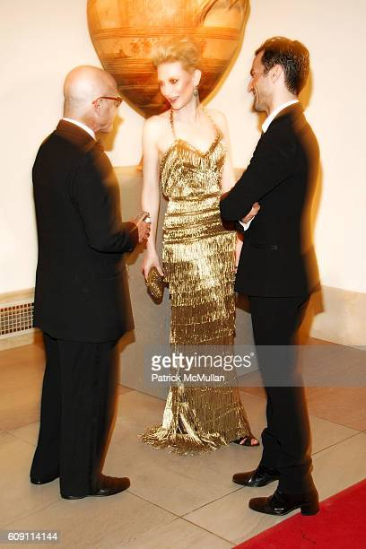 Billy Norwich Cate Blanchett and Nicolas Ghesquiere attend The COSTUME INSTITUTE Gala in honor of POIRET KING OF FASHION at The Metropolitan Museum...