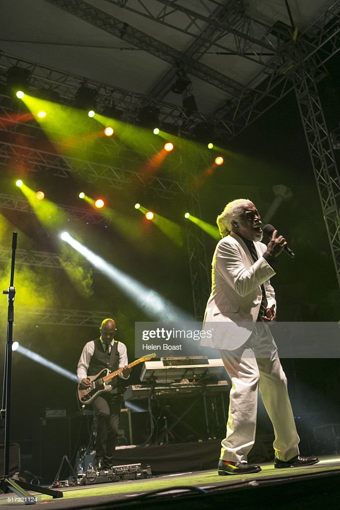 Billy Ocean performs at Irish Village on March 24, 2016 in Dubai, United Arab Emirates.