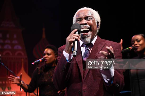 Billy Ocean performs during the Leipzig Opera Ball on November 4 2017 in Leipzig Germany