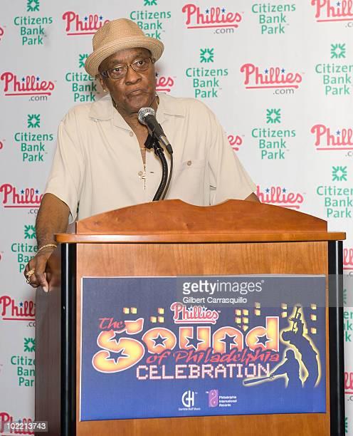 Billy Paul attends the 2010 Phillies Sound of Philadelphia Celebration at Citizens Bank Park on June 18 2010 in Philadelphia Pennsylvania