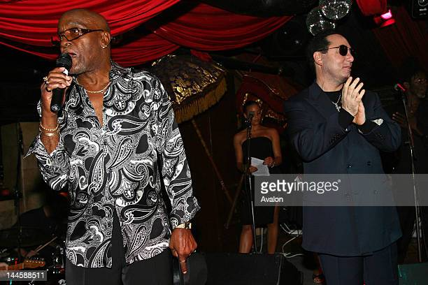 Billy Paul David Gest David Gest Promotional Evening for New Years All Star Soul Spectacular at ChinaWhite London 11th October 2006 15945