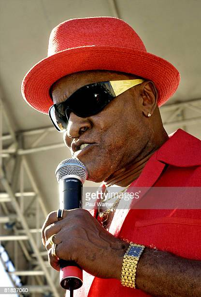 Billy Paul performs during day four of the Comerica Cityfest on July 5 2008 at the New Center area in Detroit Michigan