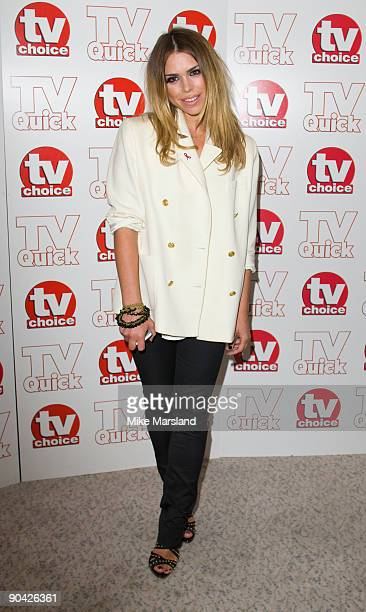 Billy Piper attends the TV Quick Tv Choice Awards at the The Dorchester Hotel on September 7th 2009 in Manchester England