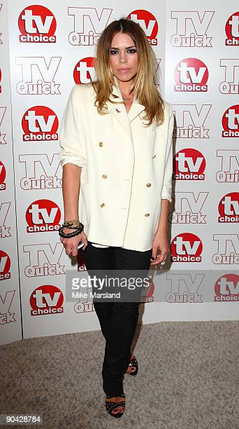 Billy Pipper attends the TV Quick Tv Choice Awards at The Dorchester on September 7 2009 in London England
