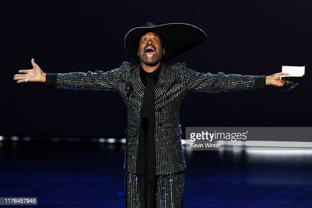 Billy Porter accepts the Outstanding Lead Actor in a Drama Series award for 'Pose' onstage during the 71st Emmy Awards at Microsoft Theater on...