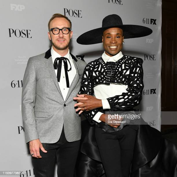 Billy Porter and Adam Smith attend FX Network's Pose season 2 premiere on June 05 2019 in New York City