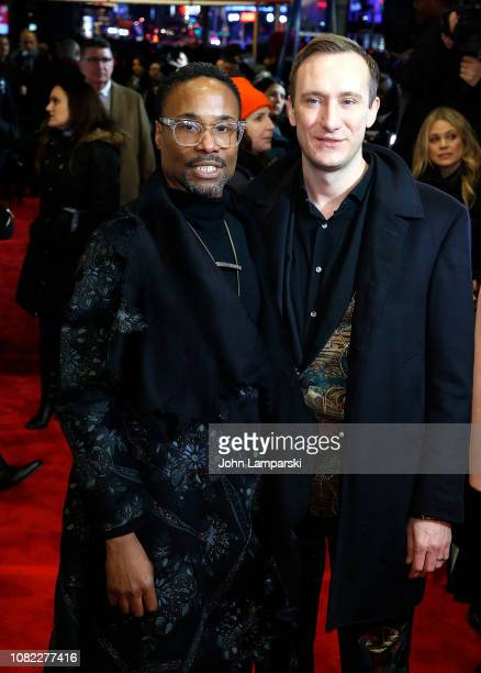 Billy Porter and Adam Smith attend To Kill A Mockingbird Broadway Opening Night at Shubert Theatre on December 13 2018 in New York City