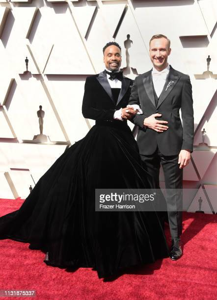 Billy Porter and Adam Smith attends the 91st Annual Academy Awards at Hollywood and Highland on February 24 2019 in Hollywood California
