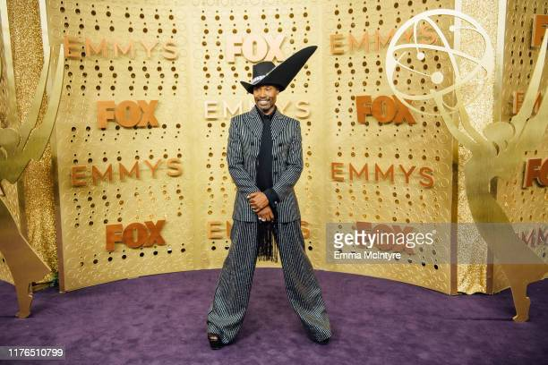 Billy Porter arrives at the 71st Emmy Awards at Microsoft Theater on September 22, 2019 in Los Angeles, California.