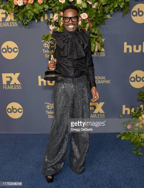 Billy Porter arrives at the Walt Disney Television Emmy Party on September 22, 2019 in Los Angeles, California.