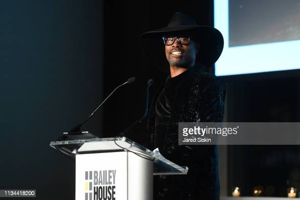Billy Porter attends 2019 Bailey House Gala Auction at Pier 60 Chelsea Piers on March 07 2019 in New York City
