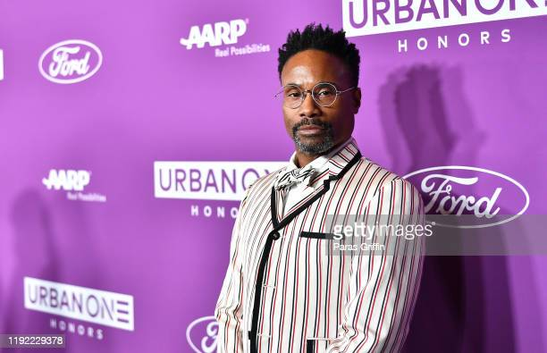 Billy Porter attends 2019 Urban One Honors at MGM National Harbor on December 05, 2019 in Oxon Hill, Maryland.