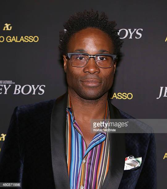 Billy Porter attends a special New York screening reception for 'Jersey Boys' hosted by Angelo Galasso at Angelo Galasso on June 2014 in New York City