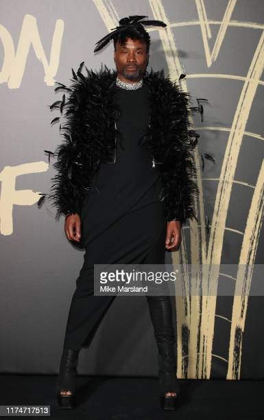 Billy Porter attends Fashion For Relief London 2019 at The British Museum on September 14 2019 in London England