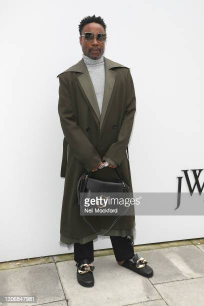 Billy Porter attends JW Anderson at Yeomanry House during LFW February 2020 on February 17, 2020 in London, England.