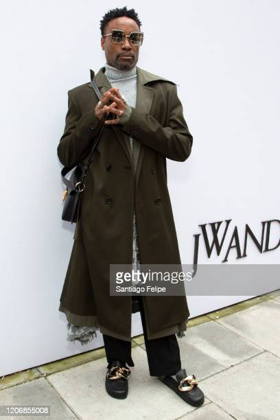 Billy Porter attends 'JW Anderson' fashion show during London Fashion Week February 2020 on February 17, 2020 in London, England.