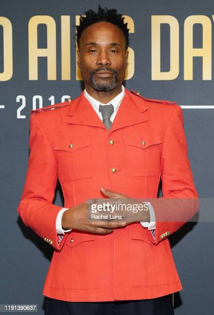 """Billy Porter attends """"Keep the Promise"""" 2019 World AIDS Day Concert In Los Angeles at The Wilshire Ebell Theatre on December 01, 2019 in Los Angeles,..."""