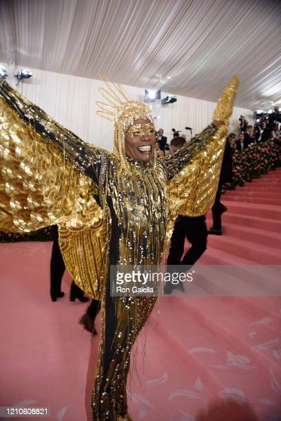 Billy Porter attends Met Gala Celebrating Camp: Notes On Fashion - Arrivals at the Metropolitan Museum of Art in New York City on May 6, 2019.