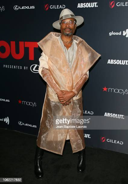 Billy Porter attends Out Magazine's OUT100 Awards Celebration Presented By Lexus at Quixote Studios on November 15 2018 in Los Angeles California