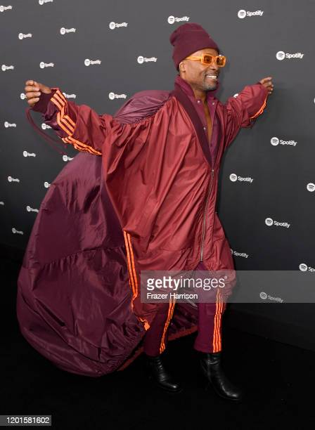 Billy Porter attends Spotify Hosts Best New Artist Party at The Lot Studios on January 23 2020 in Los Angeles California