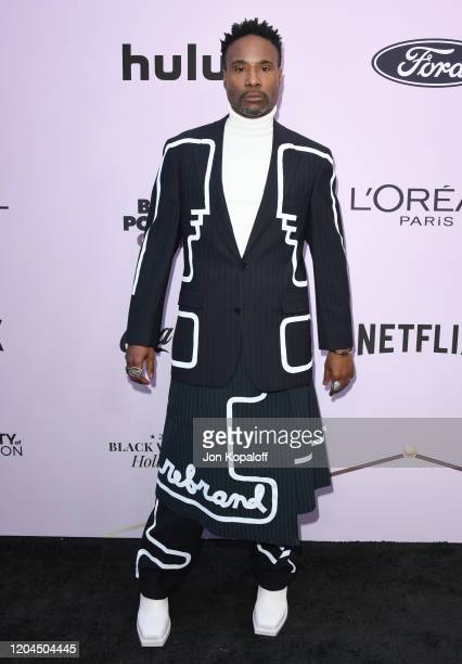 Billy Porter attends the 13th Annual Essence Black Women In Hollywood Awards Luncheon at the Beverly Wilshire Four Seasons Hotel on February 06, 2020...