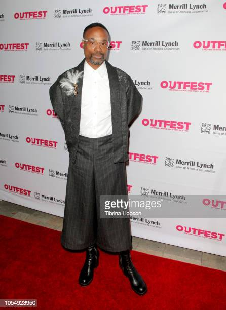 Billy Porter attends the 13th annual Outfest Legacy Awards at Vibiana on October 28 2018 in Los Angeles California