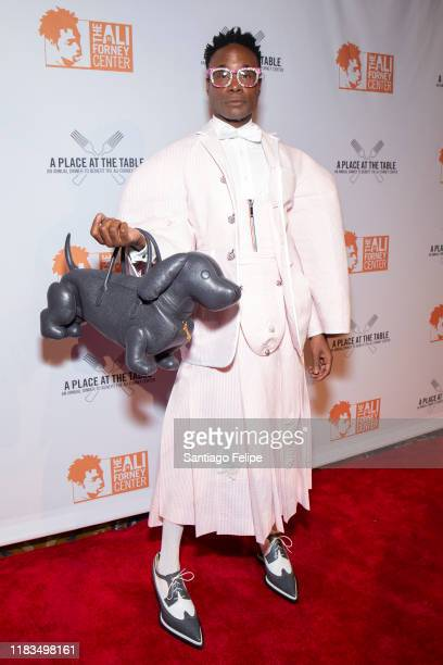 Billy Porter attends the 2019 Ali Forney Center Gala at Cipriani Wall Street on October 25, 2019 in New York City.