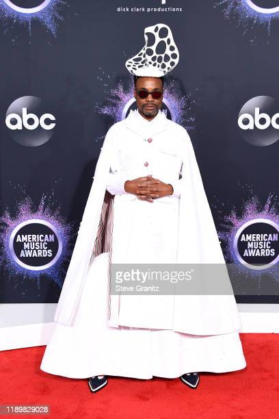 Billy Porter attends the 2019 American Music Awards at Microsoft Theater on November 24 2019 in Los Angeles California