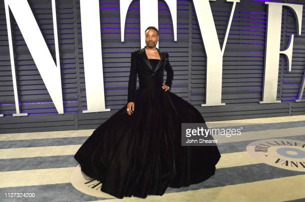 Billy Porter attends the 2019 Vanity Fair Oscar Party hosted by Radhika Jones at Wallis Annenberg Center for the Performing Arts on February 24 2019...
