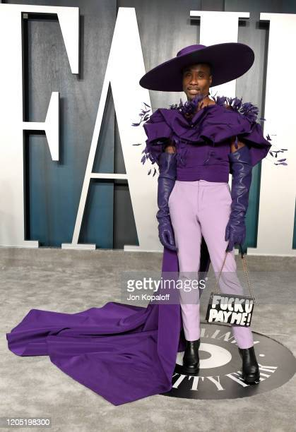 Billy Porter attends the 2020 Vanity Fair Oscar Party hosted by Radhika Jones at Wallis Annenberg Center for the Performing Arts on February 09, 2020...