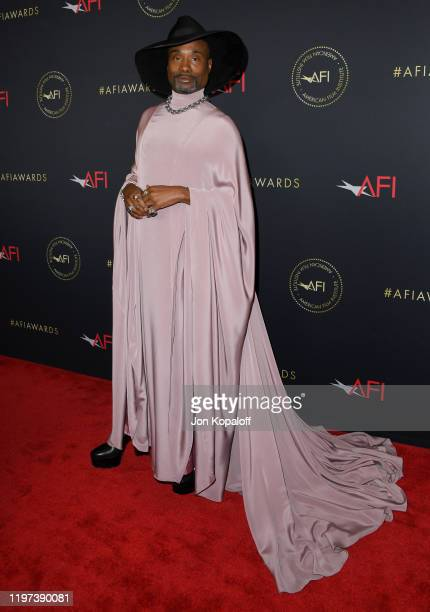 Billy Porter attends the 20th Annual AFI Awards at Four Seasons Hotel Los Angeles at Beverly Hills on January 03 2020 in Los Angeles California