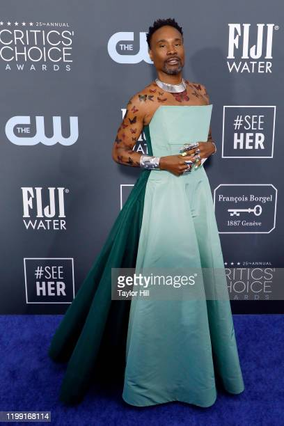 Billy Porter attends the 25th Annual Critics' Choice Awards at Barker Hangar on January 12, 2020 in Santa Monica, California.