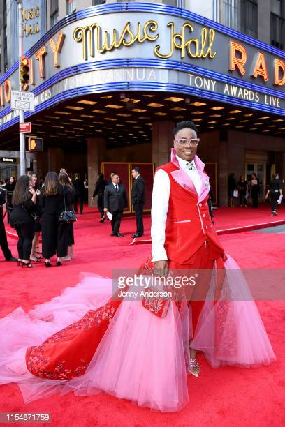 Billy Porter attends the 73rd Annual Tony Awards at Radio City Music Hall on June 09 2019 in New York City