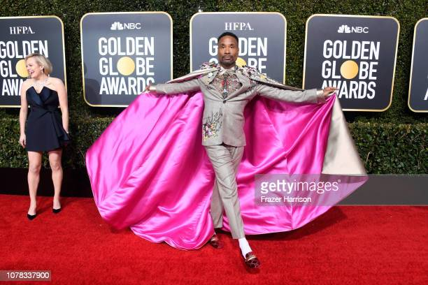 Billy Porter attends the 76th Annual Golden Globe Awards at The Beverly Hilton Hotel on January 6 2019 in Beverly Hills California