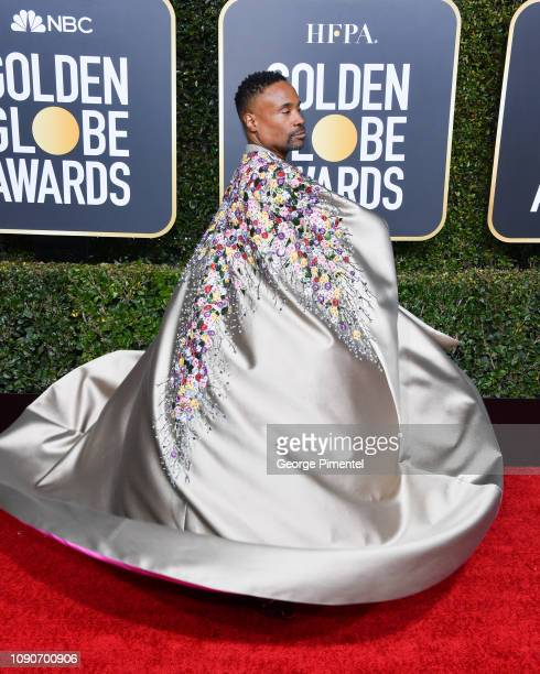 Billy Porter attends the 76th Annual Golden Globe Awards held at The Beverly Hilton Hotel on January 06, 2019 in Beverly Hills, California.