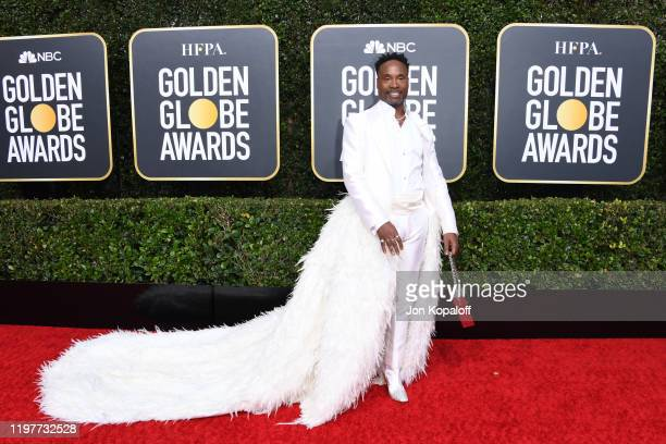 Billy Porter attends the 77th Annual Golden Globe Awards at The Beverly Hilton Hotel on January 05 2020 in Beverly Hills California