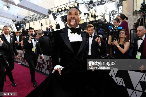 Billy Porter attends the 91st Annual Academy Awards at Hollywood and Highland on February 24 2019 in Hollywood California