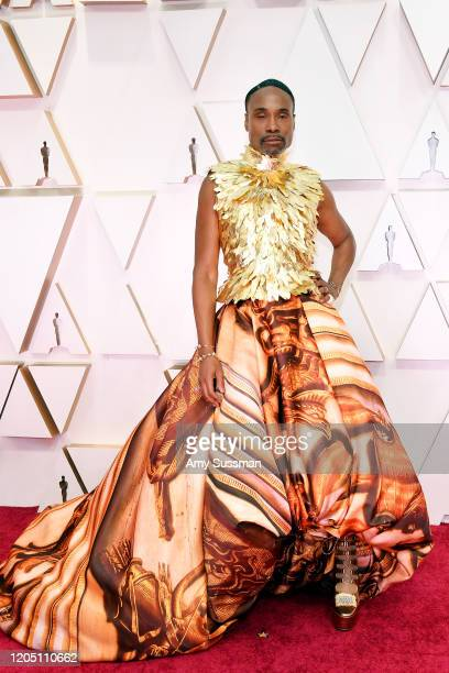 Billy Porter attends the 92nd Annual Academy Awards at Hollywood and Highland on February 09 2020 in Hollywood California