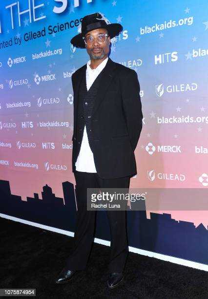 Billy Porter attends the Black AIDS Institute's 2018 Heroes in The Struggle Gala at California African American Museum on December 01 2018 in Los...