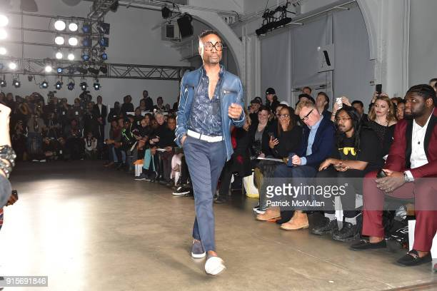 Billy Porter attends The Blue Jacket Fashion Show Benefiting Prostate Cancer Foundation at Pier 59 on February 7 2018 in New York City