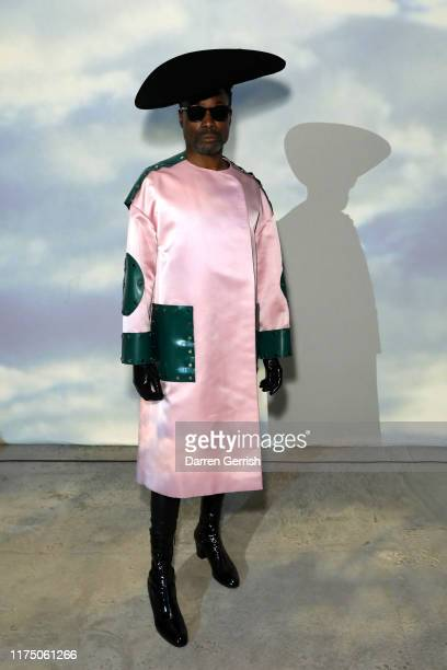 Billy Porter attends the Christopher Kane show during London Fashion Week September 2019 on September 16, 2019 in London, England.