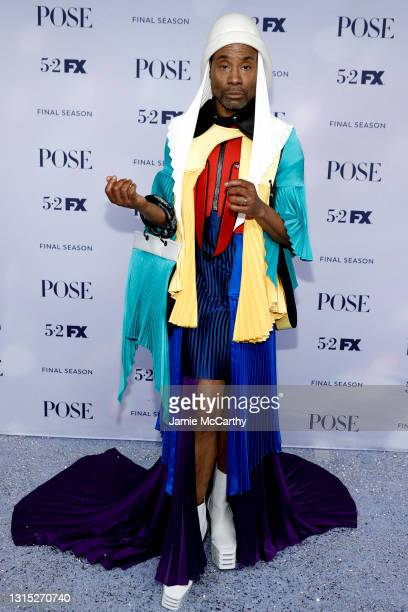 """Billy Porter attends the FX's """"Pose"""" Season 3 New York Premiere at Jazz at Lincoln Center on April 29, 2021 in New York City."""