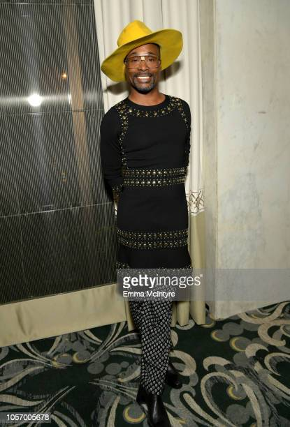 Billy Porter attends the GLSEN Respect Awards at the Beverly Wilshire Four Seasons Hotel on October 19 2018 in Beverly Hills California