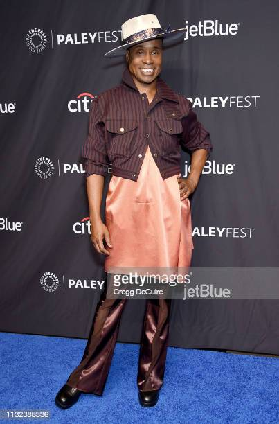 Billy Porter attends The Paley Center For Media's 2019 PaleyFest LA Pose at Dolby Theatre on March 23 2019 in Hollywood California