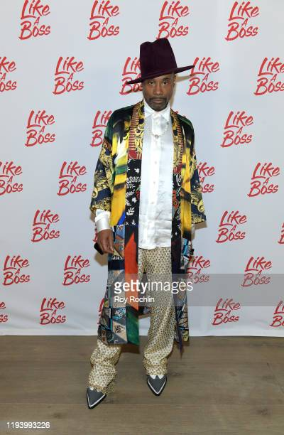 Billy Porter attends the Paramount Pictures' Like A Boss Photocall at the Whitby Hotel on December 14 2019 in New York New York